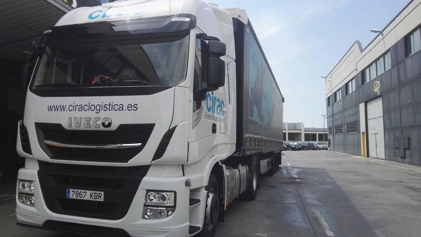 nueva tractora para trasporte internacional