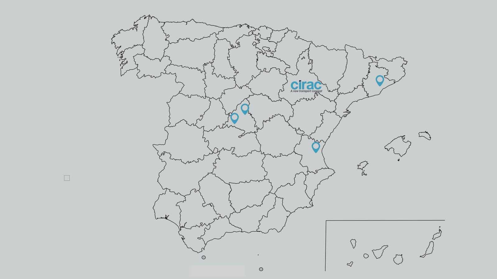 mapa cirac España