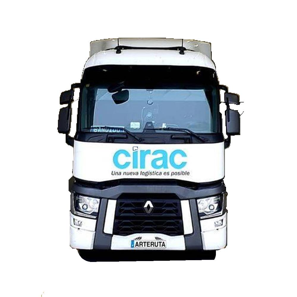 camion cirac logistica y transporte transparente